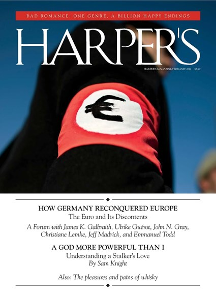 Harper's Cover - 2/1/2014