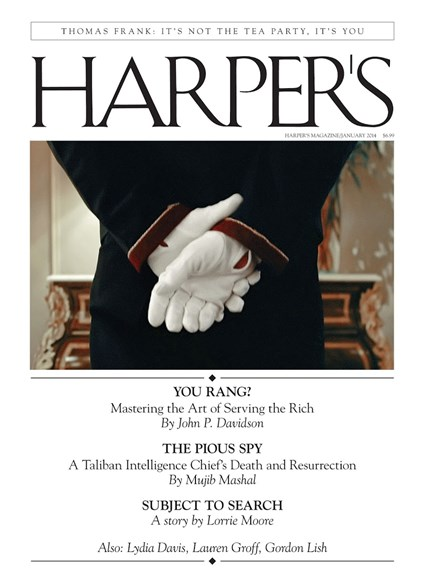 Harper's Cover - 1/1/2014