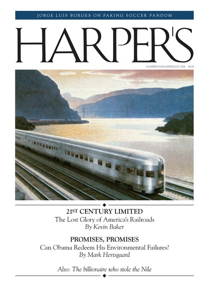 Harper's Cover - 7/1/2014
