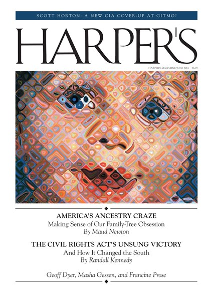 Harper's Cover - 6/1/2014