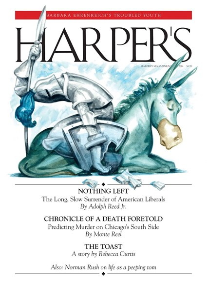 Harper's Cover - 3/1/2014