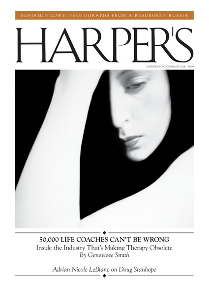 Harper's Cover - 5/1/2014