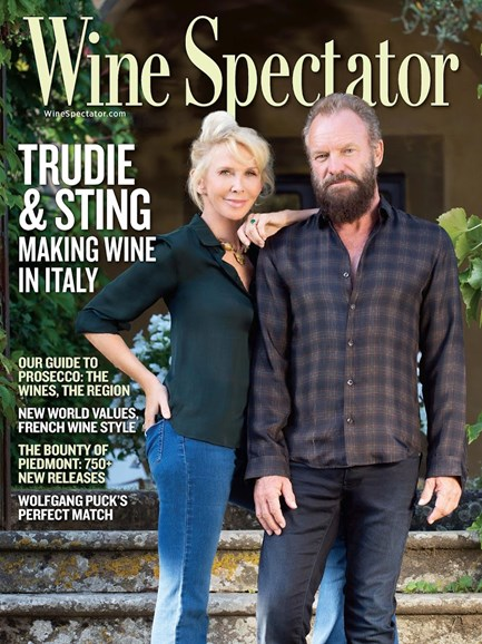 Wine Spectator Cover - 4/30/2016