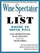 Wine Spectator Magazine 8/31/2016