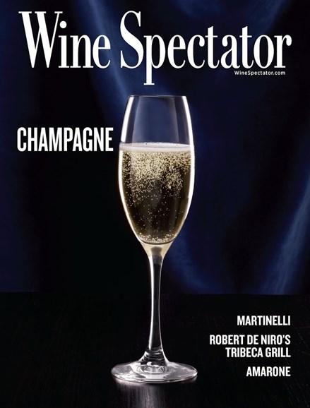 Wine Spectator Cover - 12/15/2016