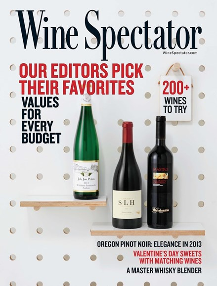 Wine Spectator Cover - 2/28/2016