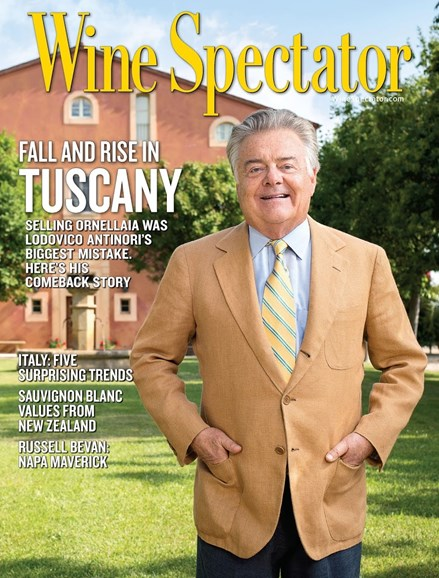 Wine Spectator Cover - 10/31/2016