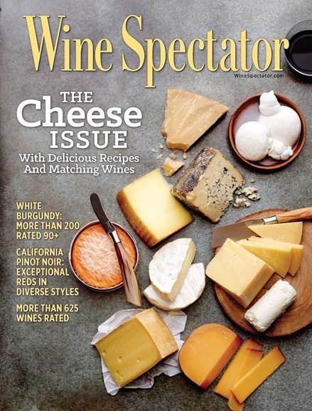 Wine Spectator Cover - 9/30/2016