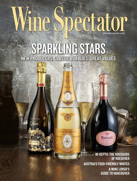 Wine Spectator Cover - 12/15/2015