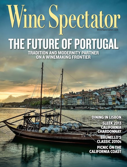 Wine Spectator Cover - 7/31/2015