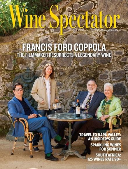 Wine Spectator Cover - 6/15/2015
