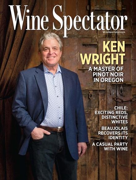 Wine Spectator Cover - 5/31/2015