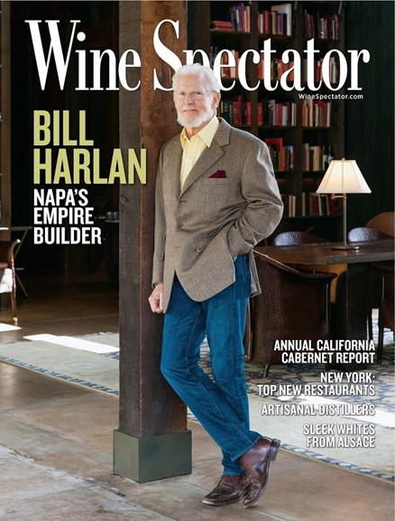 Wine Spectator Cover - 11/15/2015