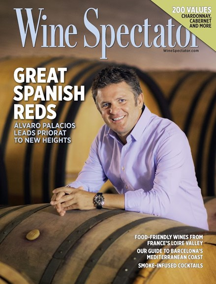 Wine Spectator Cover - 10/15/2015