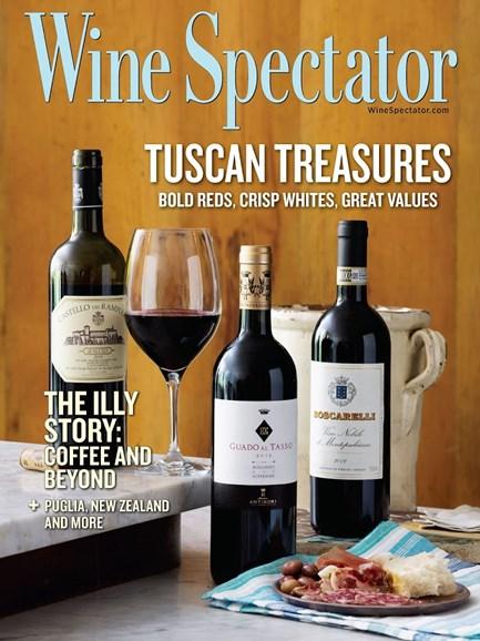 Wine Spectator Cover - 10/31/2015