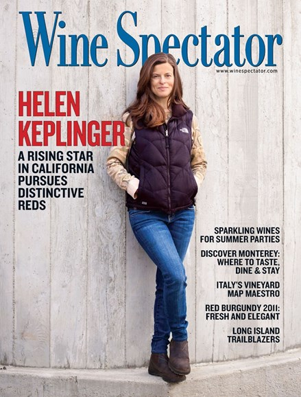 Wine Spectator Cover - 6/15/2014