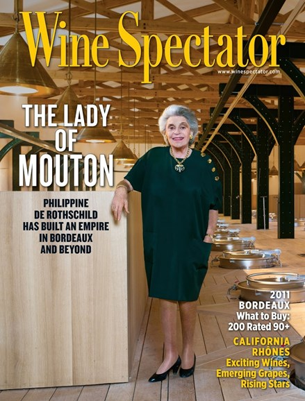 Wine Spectator Cover - 3/31/2014