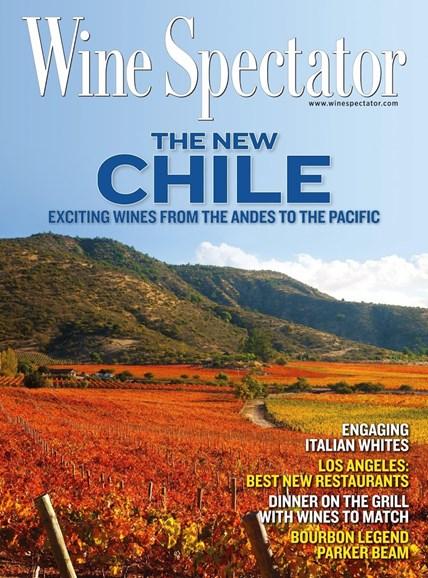 Wine Spectator Cover - 5/31/2014
