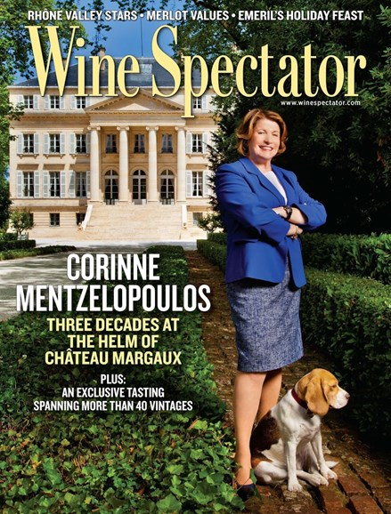 Wine Spectator Cover - 11/30/2014
