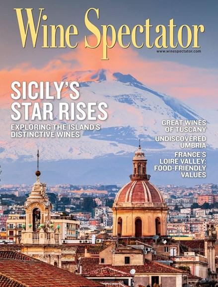 Wine Spectator Cover - 10/31/2014