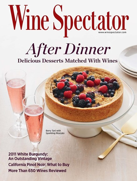 Wine Spectator Cover - 9/30/2014