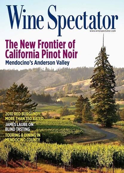 Wine Spectator Cover - 6/15/2013