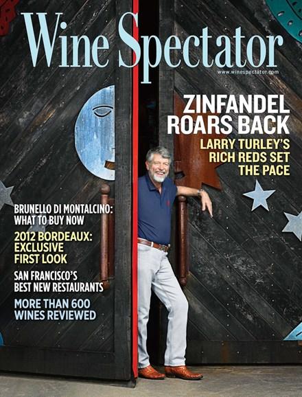 Wine Spectator Cover - 6/30/2013