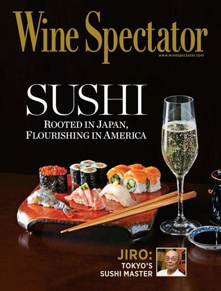 Wine Spectator Cover - 5/31/2013