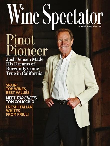 Wine Spectator Cover - 10/15/2013