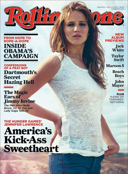 Rolling Stone Cover - 4/12/2012