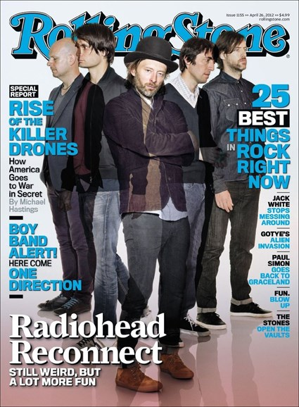 Rolling Stone Cover - 4/26/2012