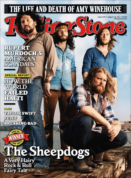 Rolling Stone Cover - 8/18/2011
