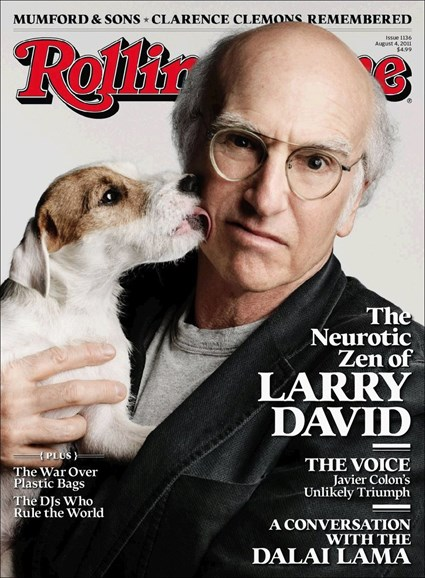 Rolling Stone Cover - 8/4/2011