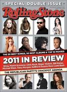 Rolling Stone Magazine 12/22/2011
