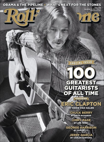 Rolling Stone Cover - 12/8/2011