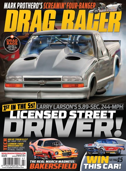 Drag Racer Cover - 7/1/2017