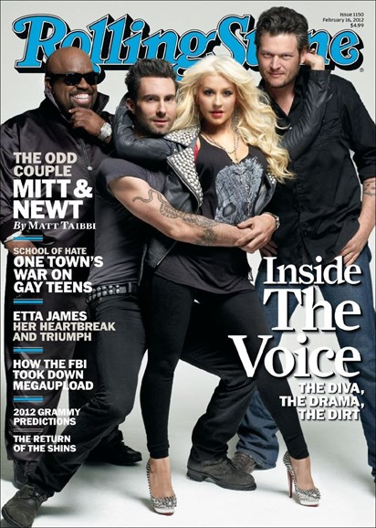 Rolling Stone Cover - 2/16/2012