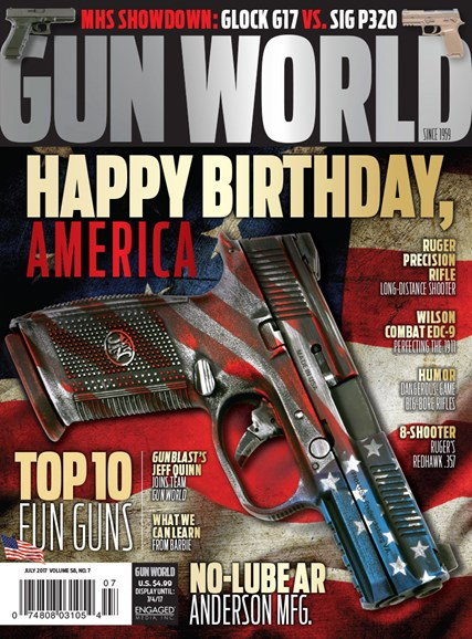 Gun World Cover - 7/1/2017