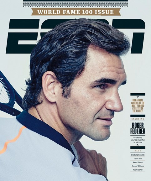 ESPN The Magazine Cover - 6/12/2017