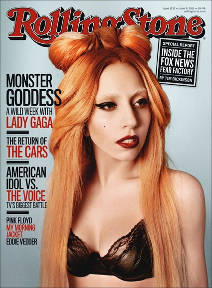 Rolling Stone Cover - 6/9/2011