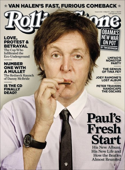 Rolling Stone Cover - 5/1/2012