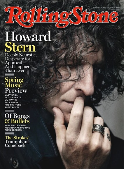 Rolling Stone Cover - 3/31/2011