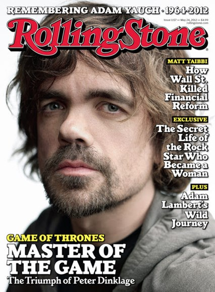 Rolling Stone Cover - 5/24/2012