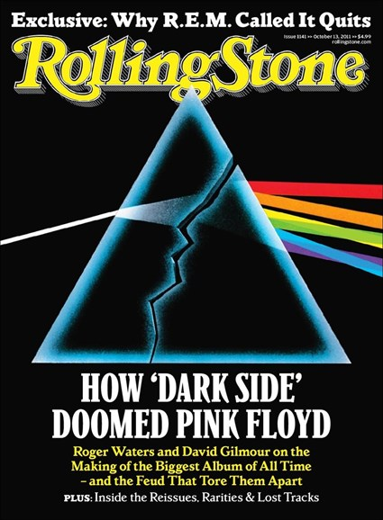 Rolling Stone Cover - 10/12/2011