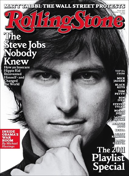 Rolling Stone Cover - 10/27/2011