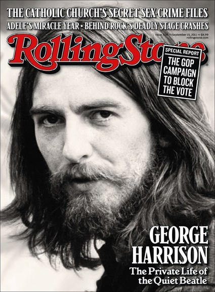 Rolling Stone Cover - 9/15/2011