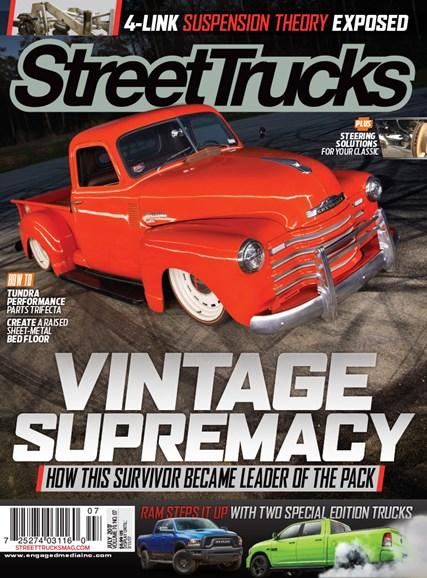 Street Trucks Cover - 7/1/2017