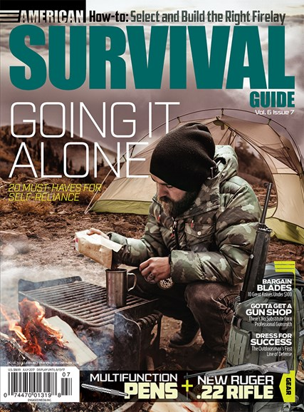 American Survival Guide Cover - 7/1/2017