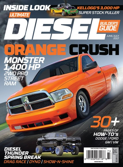 Ultimate Diesel Builder's Guide Cover - 6/1/2017