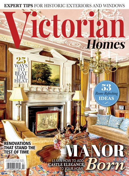 Victorian Homes Cover - 6/1/2017